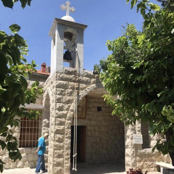 كنيسة القديسة ريتا - حي بيت عيد - عشقوت image
